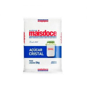 Açucar Cristal Mais Doce cx c/ 10kg