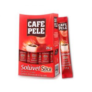 Café Pelé Solúvel - Stick